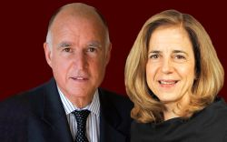 Gov Jerry Brown and Anne Gust Brown
