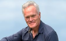 Scott Pelley Holding A Fish