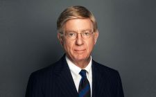 George Will Wearing A Suit And Tie