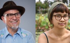 Bobcat Goldthwait, Charlyne Yi Are Posing For A Picture